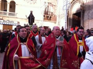 san Ciro - processione ministranti